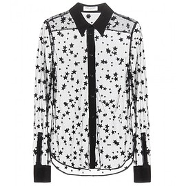 SAINT LAURENT - SS2015 Embroidered shirt