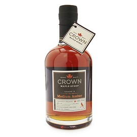 CROWN Maple Syrup - A Grare Medium Amber