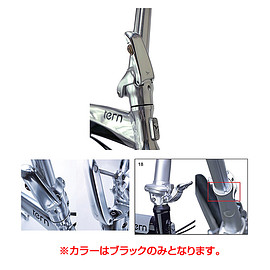 tern - PHYSIS 3D T-BAR HANDLEPOST 12° 25mm ブラック から