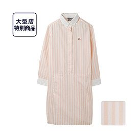 UNIQLO × morning beautiful people - W DIP g.m.b.p.シャツワンピース(7分袖)+