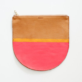 BAGGU - Hand-Painted Leather pouch