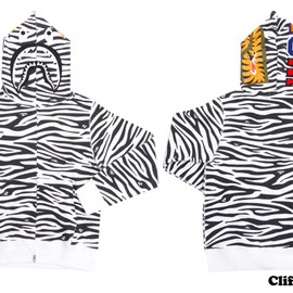 A BATHING APE - ZEBRA SHARK