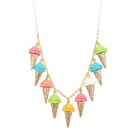 N2 - Necklace with ice cream cones