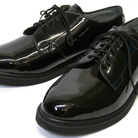 ROTHCO - BLACK LIGHTWEIGHT OXFORDS  (HIGH GLOSS)