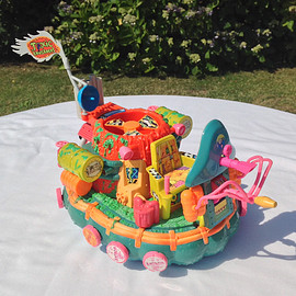 Playmates - TOXIC CRUSADERS:Hideous Hovercraft -The Cool Clean-up Craft! / Stock No.2504