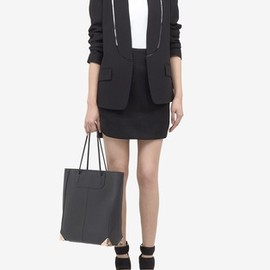 ALEXANDER WANG - Cut-away blazer