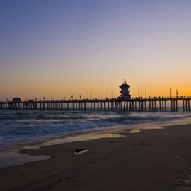 California - Huntington Beach Sunset