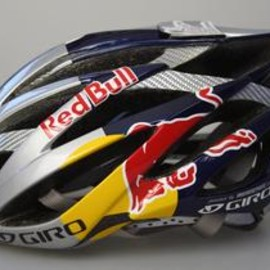 GIRO - Ionos Mark Webber Red Bull custom cycle helmet