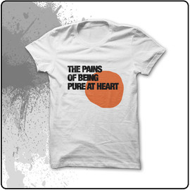 Pains of Being Pure at Heart - Punto Blob T-Shirt (White)