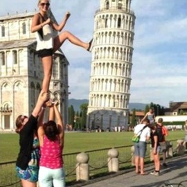 italia 【torre di pisa】ピサの斜塔 - This is awesome photo!
