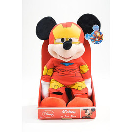 Marvel Classic Disney Theme Plush Doll - Mickey as Iron Man