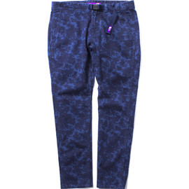 THE NORTH FACE PURPLE LABEL - W's Flower Print Stretch Twill Pants