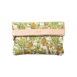 beautiful people - botanical banana pt.tote clutch