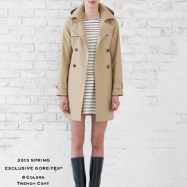 AIGLE - GORE-TEX TRENCH COAT