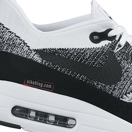 NIKE - Air Max 1 Ultra Flyknit - White/Black