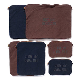 STUSSY Livin' GENERAL STORE - Canvas Small Pouch