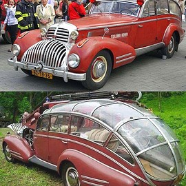 Horch - 853 Fire Truck Conversion