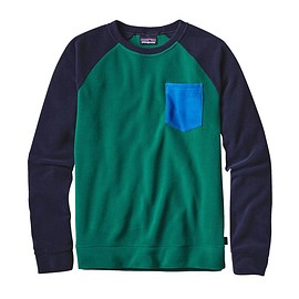 patagonia - M'S MICRO D CREW, Legend Green (LGDG)