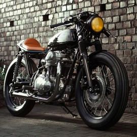 Tomotors Racemachines - Kawasaki W650 / 676 Salt Flat Spirit