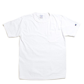 Champion - T1011 Pocket T-White