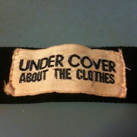 UNDERCOVER - Pink Tag Wristband (Original)