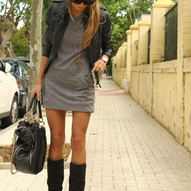 Dress&Leather/style