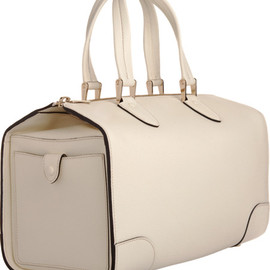 White Leather Trolley