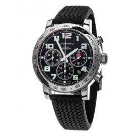 Chopard - Chopard Mille Miglia Steel Black Rubber Chronograph Mens Watch 168920