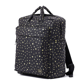 "HEAD PORTER - ""STELLAR (NEW)"" 2WAY BAG BLACK"