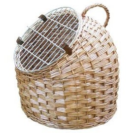 Woven Cat Caddy Carrier and Bed