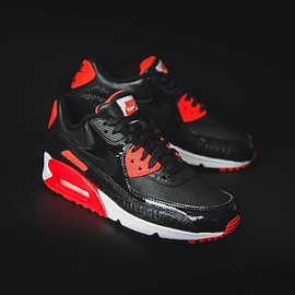 NIKE - NIKE AIR MAX 90 ANNIVERSARY BLACK/BLACK-INFRARED-WHITE