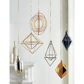 CB2 - boxes gold ornament