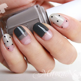 scotch tape nails