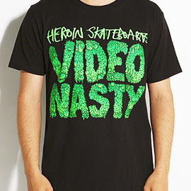 Heroin Skateboards - Heroin Video Nasty Tee