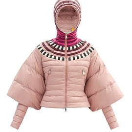 1 Moncler Pierpaolo Piccioli - Alexis colour-block cape-sleeve down-filled jacket