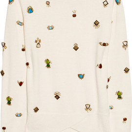 3.1 Phillip Lim - Embellished wool sweater