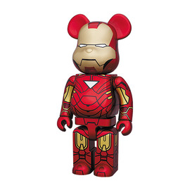 MEDICOM TOY -  Iron Man 2 MK VI   BE@RBRICK Bearbrick
