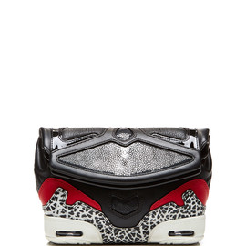 ALEXANDER WANG - SS2015 Sneaker Clutch Black, Lacquer, And Stingray