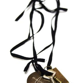 ANN DEMEULEMEESTER - 11ss KEY NECKLACE BLACK