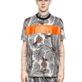 GIVENCHY - COLOMBIAN FIT PAISLEY COTTON T-SHIRT