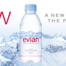 evian - A NEW BOTTLE FROM THE FRENCH ALPS