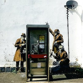 Banksy - Spy Booth