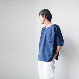 Manual Alphabet - Manual Alphabet / Nylon rip-stop shirt : navy