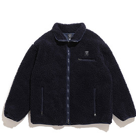 South2 West8 - Piping Jacket-Synthetic Pile-Navy