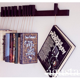 OldAndCold - Custom made wooden book rack