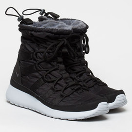 Nike - Rosherun Hi Sneakerboot - Black/White/Grey?