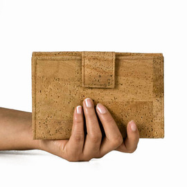 Corkor - Gift for Her - Womens Wallet, Vegan Clutch, Purse Made from Cork