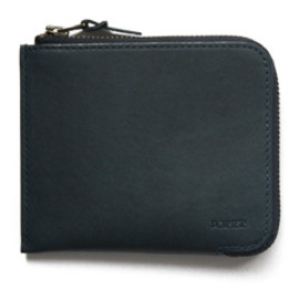 """bal - Thin Leather Wallet """"S"""" by Porter (indigo)"""
