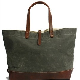 STANLEY&SONS - Waxed Canvas Tote
