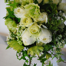 green&flower puhara - Wedding Bouquet